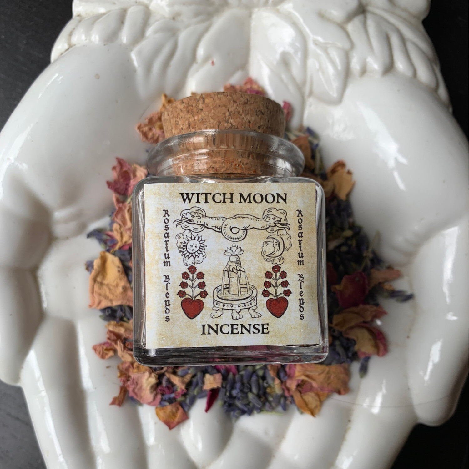 Rosarium Blends Witch Moon Incense