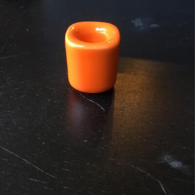 Chime Candleholder - Orange