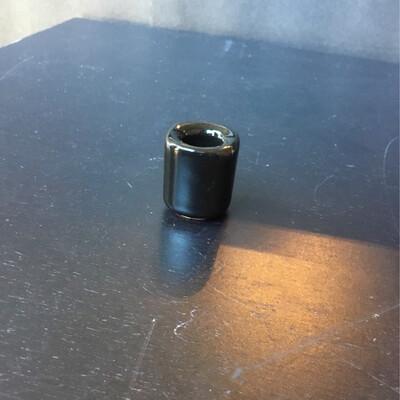 Cast Iron Pentacle Chime Candleholder