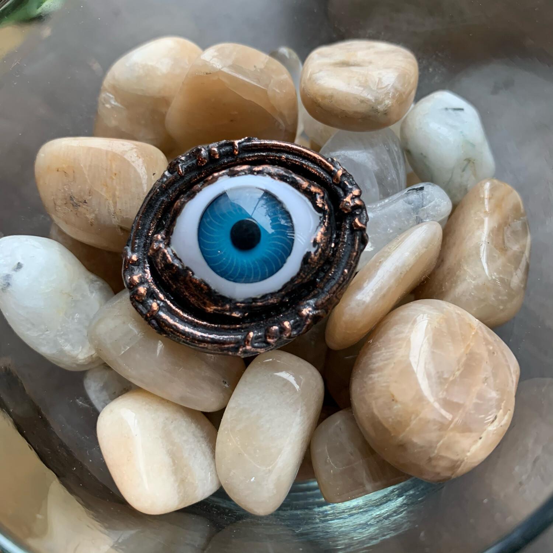 Blue Eye Ring