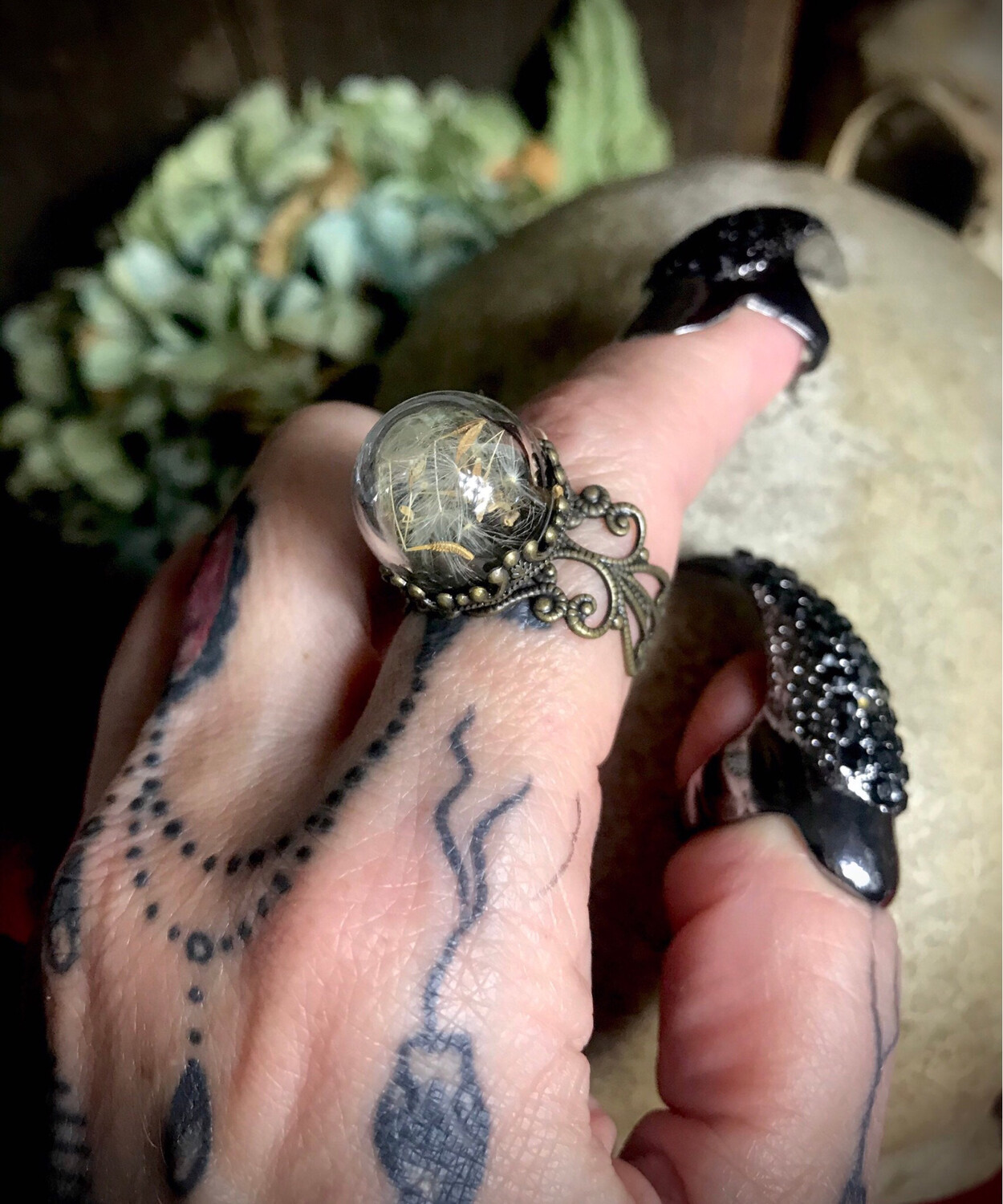 Swamp Witch Ring