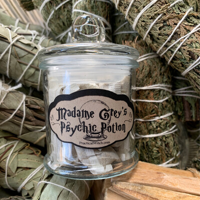 Madame Grey's Psychic Potion Tea - Apoth Jar