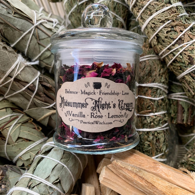 Midsummer Night's Cream Tea - Apoth Jar
