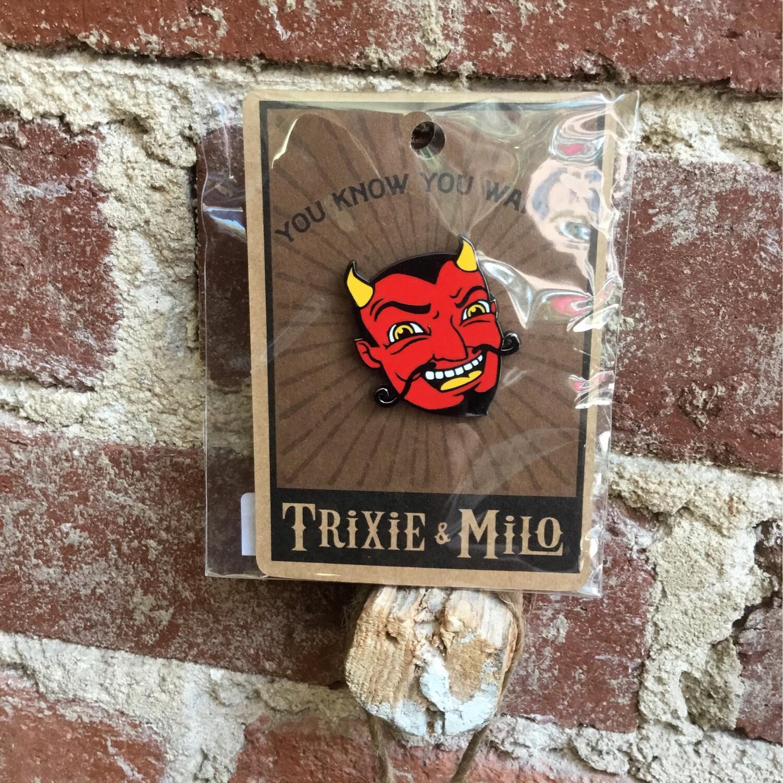 Laughing Devil Pin