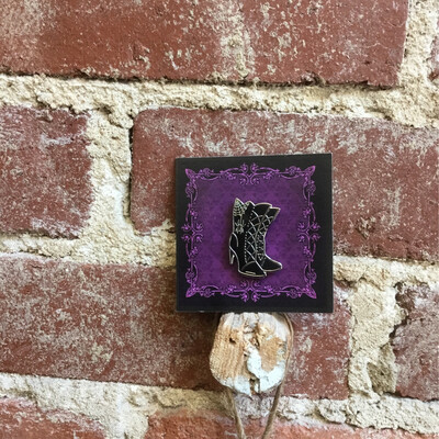 Witch Boots Pin