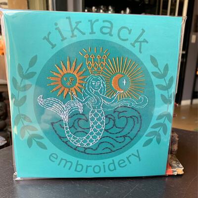 Mermaid Embroidery Kit