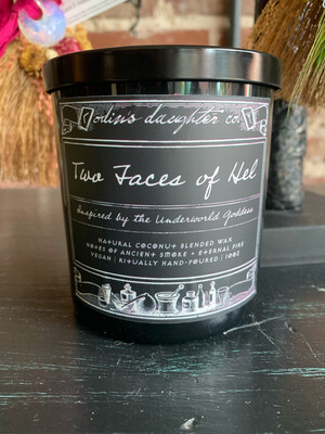 Odin's Daughter Candle - Two Faces of Hel