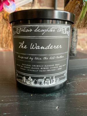 Odin's Daughter Candle - The Wanderer