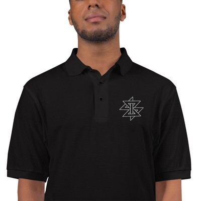 ZZ-Polo Embroidered Khaoztar