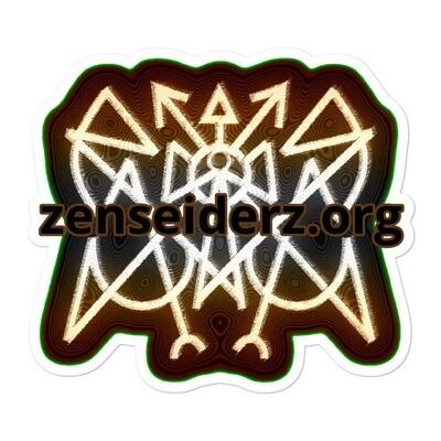 ZZ-Sticker Zitruzian Meme Symmetrical Sigilogos