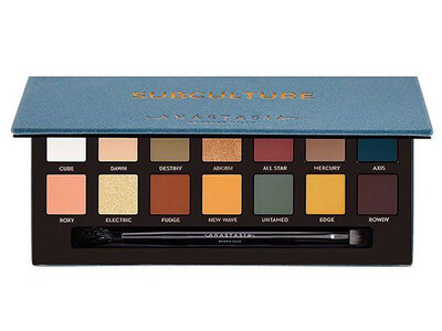 Subculture Anastasia Eye Shadow Palette