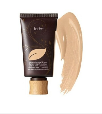 TarteAMAZONIAN CLAY 12-HOUR FULL COVERAGE FOUNDATION SPF 15