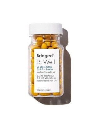 Be well vegan omega 3,6,9+biotin supplemeny for healthy hair