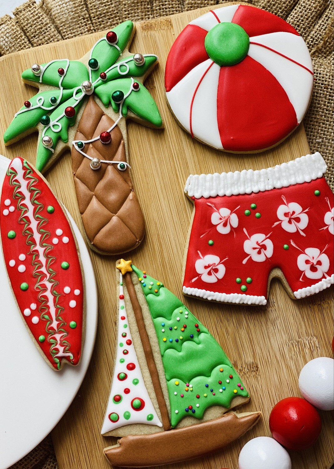 Christmas in July  Cookie Decorating Workshop Sunday, July 25, 2:00 - 5:00pm
