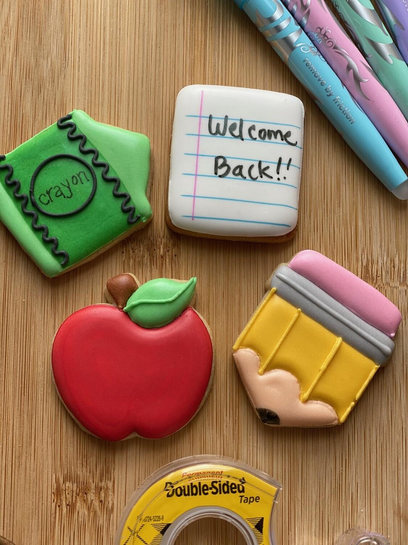 4 Mini Cookies