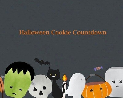 Halloween Cookie Countdown