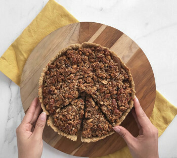 Pie de manzana Completo
