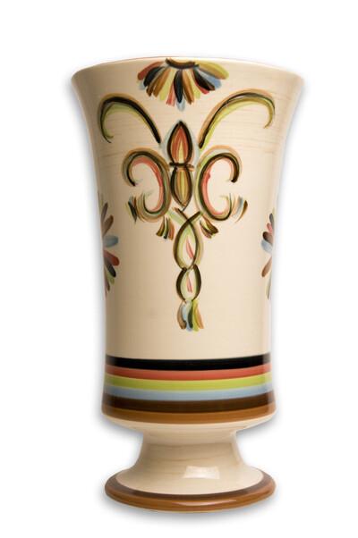 """Vieux Carre 10"""" Vase Utensil Holder"""