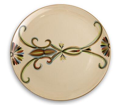 "Vieux Carre 13"" Round Platter"