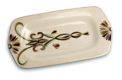 """Vieux Carre 15"""" Large Rectangular Platter"""