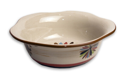 "Vieux Carre 9"" Large Scalloped Sauce Bowl"