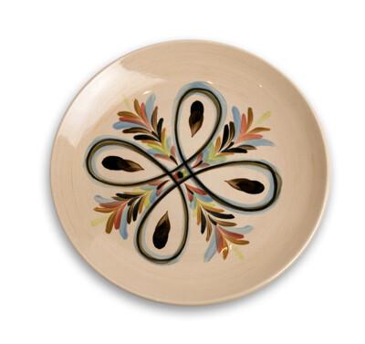 """Vieux Carre 8"""" Round Salad Dessert Plate"""