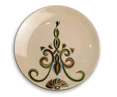 "Vieux Carre 11"" Dinner Plate"