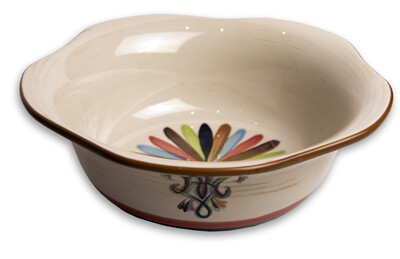"""Vieux Carre 5"""" Small Scalloped Sauce Bowl"""