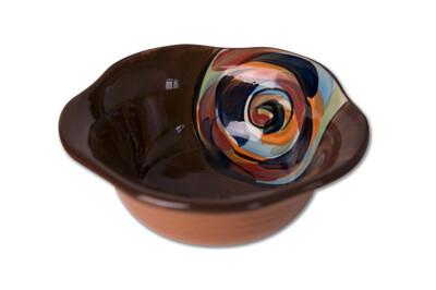 "Chinatown 5"" Small Scalloped Sauce Bowl"