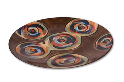 """Chinatown 13"""" Round Platter"""