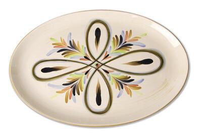 "Vieux Carre 16"" Oval Serving Platter"