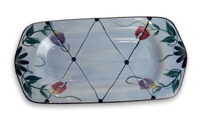 "Annabelle 11"" Large Rectangle Serving Platter"
