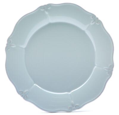 """Whisper Blue 11"""" Dinner Plate"""