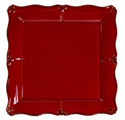 """Rich Red 13"""" Platter"""