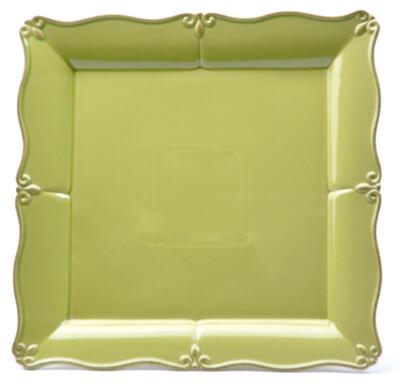 "Green Apple 13"" Platter"