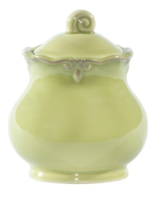 Green Apple Sugar Bowl