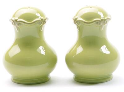 Green Apple Salt & Pepper Shakers