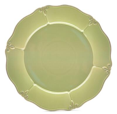 """Green Apple 11"""" Dinner Plate"""