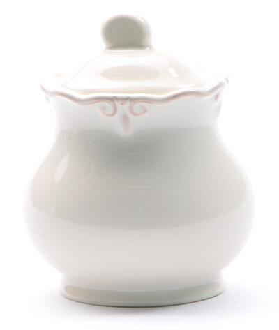 French Cream Sugar Bowl