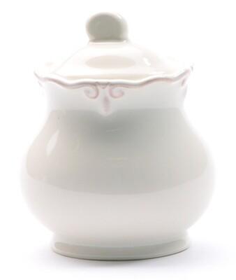 French Cream Sugar Bowl