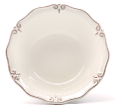 """French Cream 7"""" Cereal Bowl"""