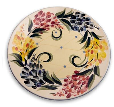 """Garden View 11"""" Dinner Plate"""