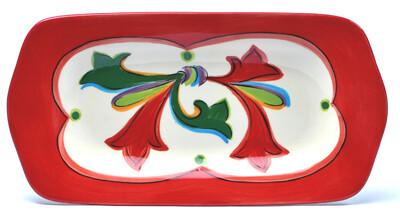 """Noel 11"""" Rectangular Platter"""