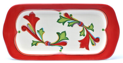 """Noel 15"""" Rectangular Platter"""