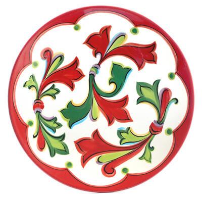 """Noel 11"""" Dinner Plate"""