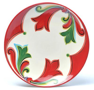 "Noel 8"" Round Salad Plate"