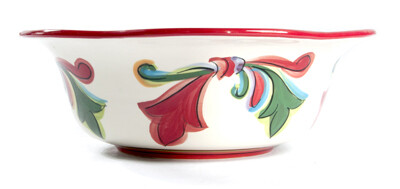 "Noel 9"" Scalloped Bowl"