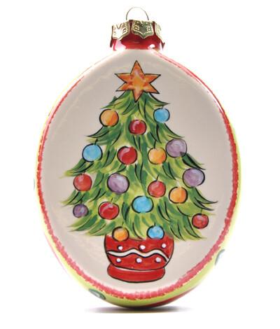 Oval Wreath Ornament
