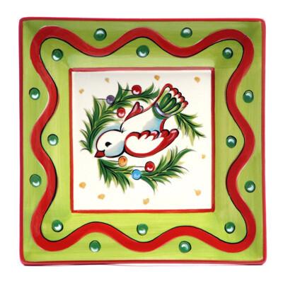 "Christmas Bright Dove 8"" Plate"
