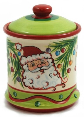 Christmas Bright Cookie Jar